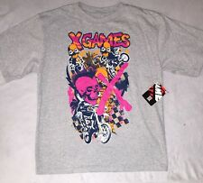 X GAMES - YOUTH Size XL Skull Motocross T-SHIRT. New With Tags. Free Shipping!