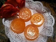 Homemade 100% Organic Healing Chakra Hemp Soap.