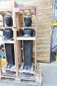 BUDDHA BRUNNEN 150CM WASSERSPIEL DEKORATION STEINGUSS EDEL DEKO ASIA STONE KÖLN