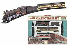 Kandy Toy Large Classic Retro Electric Train Set With Tracks Apx. 435cm of Track