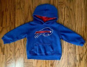 Buffalo Bills Toddler Team Apparel Hoodie Jacket Blue Size 2T