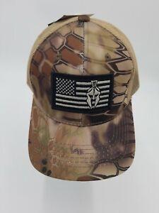 Outdoor Cap Kryptek Logo Hat Highlander USA Gladiator Snap Back