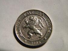 BELGIQUE - 5 CENTIMES 1895. LEOPOLD II. ROI DES BELGES. UNC.