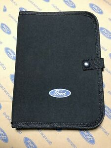 FORD FIESTA MK6 ST150 ZETEC S CLIMATE STYLE FLARE OWNERS MANUAL HANDBOOK WALLET