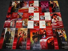 15 Mills and Boon Books - BULK - ( DESIRE - 30 STORIES)