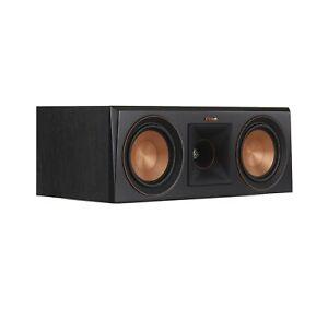 Klipsch RP-500C Ebony Vinyl Center Channel Speaker (Damaged Box)