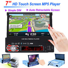 "GPS Nav 7"" HD Autoradio Vidéo Radio stéréo Bluetooth MP5 Player + Carte d'Europe"