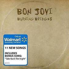 Bon Jovi - Burning Bridges + Walmart Bonus Track - New CD - Damaged Case