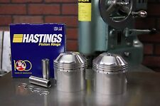"Triumph 650 +.020"" Pistons & Hastings rings QUALITY CHECKED & BALANCED Pre Unit"