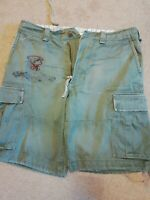 Abercrombie and fitch cargo shorts. Waist 32, 33, 34... generous sizing though