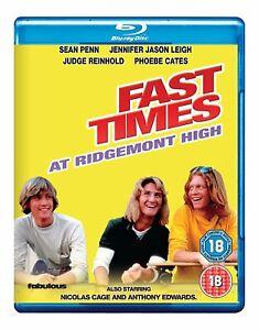 Fast Times at Ridgemont High Blu-ray (Sean Penn, Jennifer Jason Leigh) Region B