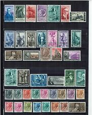 ITALY  YEAR 1955 COMPLETE     66   STAMPS    UNMOUNTED MINT