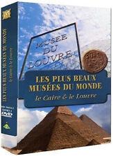20000// COFFRET 4 DVD LES PLUS BEAUX MUSEES DU MONDE LE LOUVRE LE CAIRE NEUF