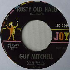 GUY MITCHELL ~ RUSTY OLD HALO ~ ROCKABILLY bopper 45 ~ NICE