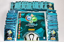PANINI WC WM GERMANY 2006 06 – 300 POCHETTES PACKETS bustine sobres + album, Comme neuf!