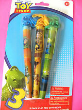 DISNEY PIXAR TOY STORY PENS ROPE LANYARD PARTY FAVOR  PACK  NEW
