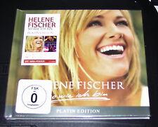 HELENE FISCHER SO WIE ICH BIN LIMITIERTE PLATIN EDITION CD + DVD NEU & OVP