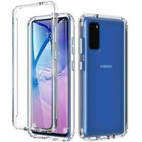 For Samsung Galaxy S20 S20 Plus S20 Ultra 5G Hybrid Hard TPU Clear Case Cover
