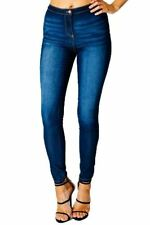Unbranded Faded High Rise Jeans for Women