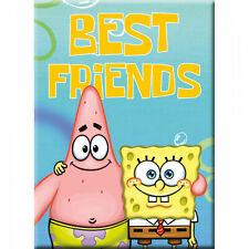 SpongeBob SquarePants Best Friends Magnet Blue