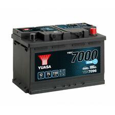 Batterie YUASA YBX7096 EFB 12V 75AH 720A