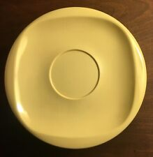 Boontonware Melmac Lot of Yellow 5 Cups and 8 Saucers