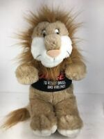 DARE To Resist Drugs And Violence Plush Lion Stuffed Animal D.A.R.E. Program VTG