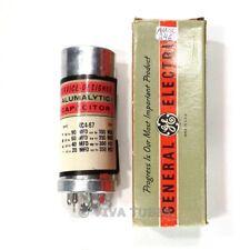 NOS NIB GE Electrolytic Can Cap 90-60-40-20 uF MFD 350-350-350-350 VDC