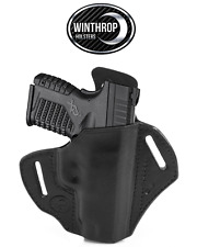 "Springfield XDS 4"" Barrel No Laser OWB Shield Holster R/H Black"