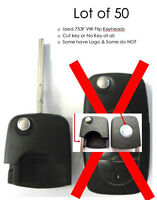 keyless remote OEM lot 50 Volkswagen VW HLO 1J0 959 753 F 753F car flip key head