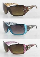 New DG Eyewear Womens Rhinestones Bling Sunglasses Designer Shades Fashion Retro