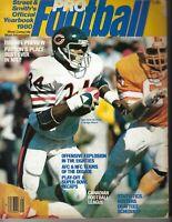 1980 Street & Smith's football magazine Walter Payton, Chicago Bears FAIR