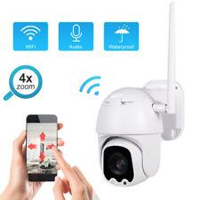 1080P IP Cámara Wifi 4X Zoom HD Video Seguridad Vigilancia In-Exterior IR Webcam
