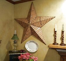 Authentic reclaimed Tin USA AMISH-made primitive BARN STARS ~ 42 inches