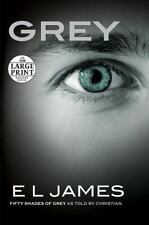 Grey: Fifty Shades of Grey as Told by Christian (Random House Large-ExLibrary