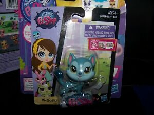 Littlest Pet Shop Wolfgang North # 3806 NEW Husky Dog  LPS retired