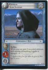 Lord Of The Rings CCG Card SoG 8.C10 Legolas, Elven Stalwart