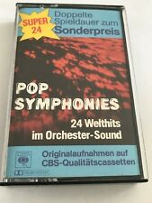 pop symphonies - 24 welthits im orchester - sound . cassette