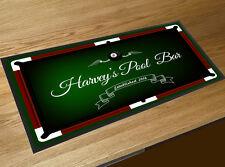Personalizzati con il tuo nome Tavolo da biliardo Bar runner Pubs E Clubs