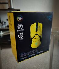Razer Viper Ultimate Cyberpunk 2077 Edition Wireless Gaming Mouse With Dock