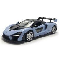 1:32 McLaren Senna V8 Model Car Diecast Supercar Toy Vehicle Gift Kids Blue