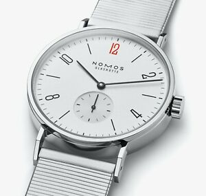 NOMOS Tangomat 601.S13   Doctors Without Borders Limited Edition   Box & Papers