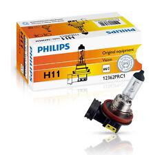 Philips H11 12V 55W Vision bis 30% mehr Licht 1 Stück 12362PRC1