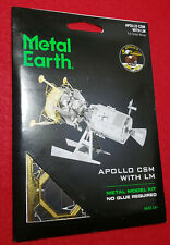 Metal Earth Apollo Csm with Lm 3D Metal Model Kit New