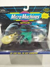GBNIB Star trek Micro Machines 3pk ships Stargazer Romulan Warbird Shuttle craft