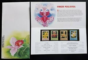 Orchids Of Malaysia 1994 Flower Plant Flora (p.pack) MNH
