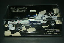 Minichamps 1:43 ma GROSSE BMW propre f1.07 USA GP 2007 Model