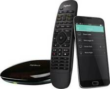 Logitech Harmony Companion Infrarot Bluetooth® WLAN Fernbedienung Schwarz NEU