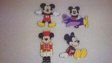 Disney Pin Disneyland Paris Christmas 2015 Booster 4 pin Set Mickey Mouse
