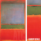 """26W""""x44H"""" NUMBER 6 (VIOLET, GREEN & RED) 1951 by MARK ROTHKO - CHOICES of CANVAS"""